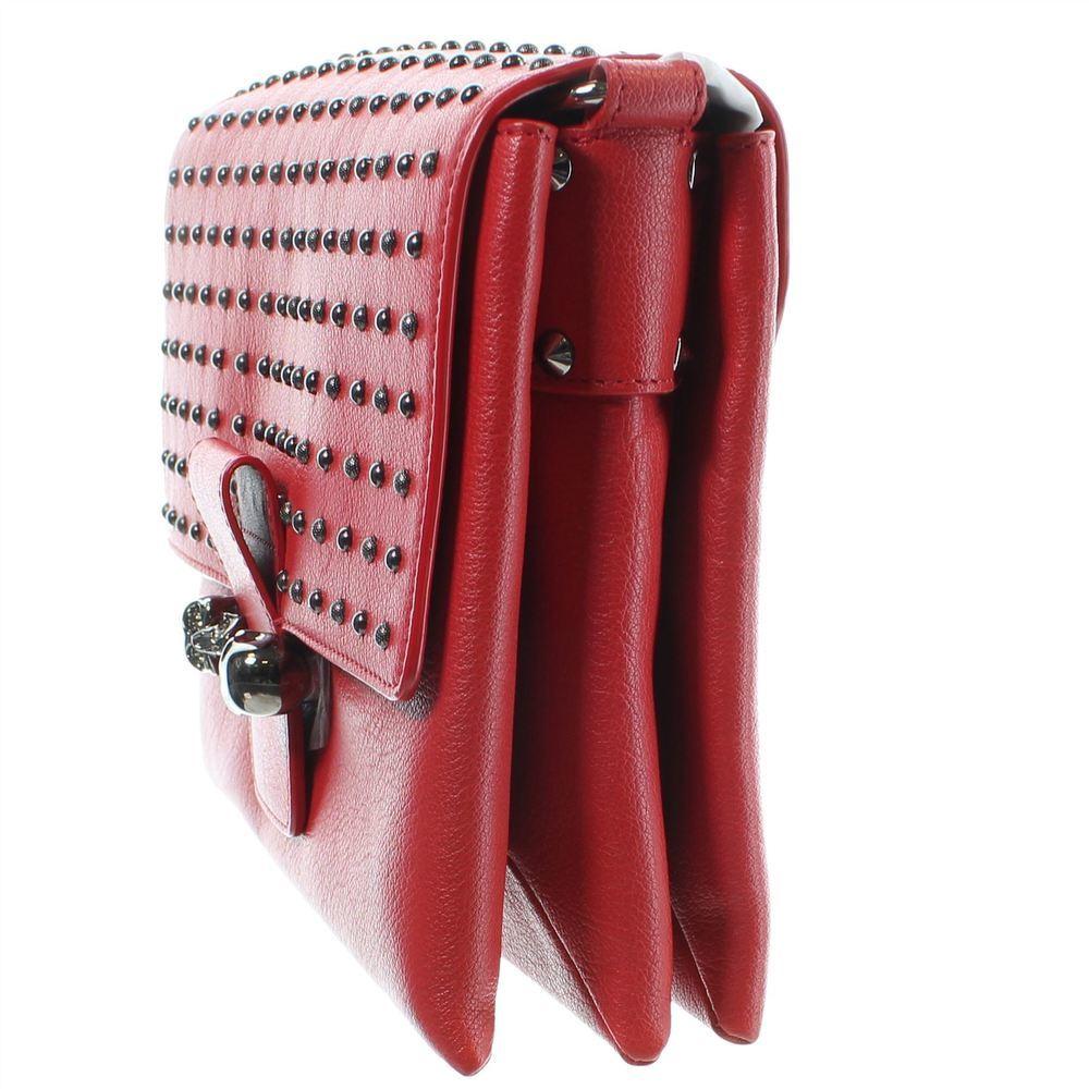 Alexander McQueen Studded Skull leather satchel