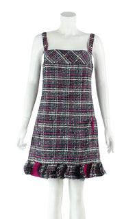 Chanel Multicoloured mini evening dress