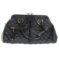 Marc Jacobs black Stam satchel.