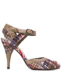 Chanel Tweed Pumps Angle2