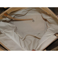 Paris Biarritz Tote in Gold Chanel Angle4