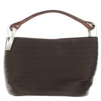 Kenzo brown Pagodon bucket bag.