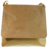 Versace leather Pony Skin Medusa Flap Shoulder Bag