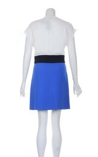 Maje Multicoloured Knee Length Sleeveless Dress. Angle3
