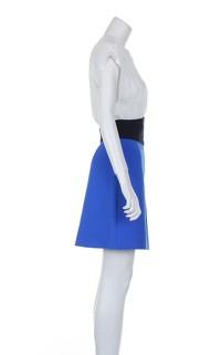 Maje Multicoloured Knee Length Sleeveless Dress. Angle4