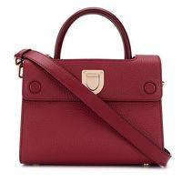 Dior Burgundy Mini Diorever Bag