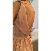 BACKLESS DRESS Maje Angle7