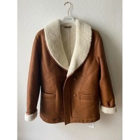 Claudie Pierlot leather shearling