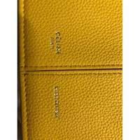 Céline Yellow leather Tri-Fold Angle6