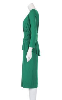 Alexander McQueen Knee Length Evening Dress. Angle2