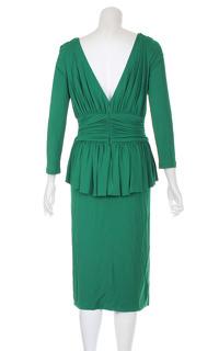 Alexander McQueen Knee Length Evening Dress. Angle3
