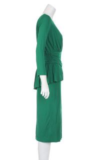 Alexander McQueen Knee Length Evening Dress. Angle4