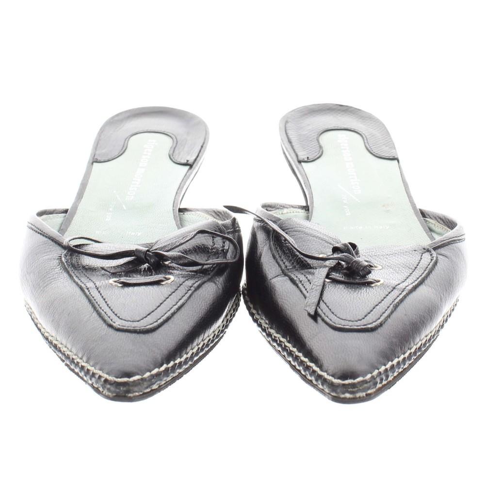 Sigerson Morrison Black Heels.