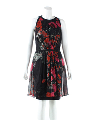 Giambattista Valli Print Knee Length Casual Dress
