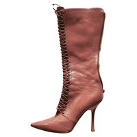 Boots Leather in Brown