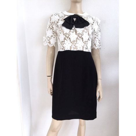 Claudie Pierlot pussy bow and lace dress