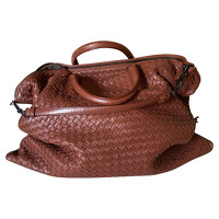 Botega Vaneta Leather Tote Bag