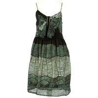 Kenzo spaghetti strap print dress